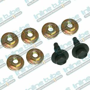 1964 72 Gm A Body Bucket Seat Mounting Hardware 8pc Set Nuts Bolts