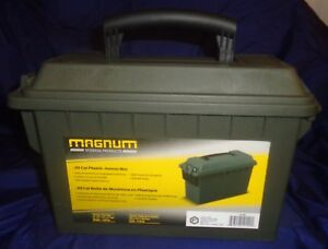 RP2617 Canadian Military Surplus Magnum Poly Plastic Ammo Box 30CAL NOS