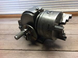 Japan News Dividing Head W 5 3 Jaw Chuck