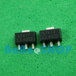 15pcs 1000pcs Ams1117 3 3 Lm1117 Ams1117 3 3v Voltage Regulator Sot 89
