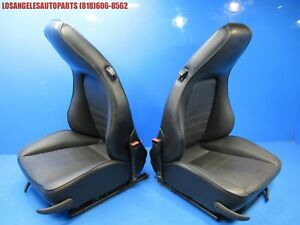 Porsche 911 964 944 951 Turbo 968 Original Front Recaro Bucket Sport Power Seats