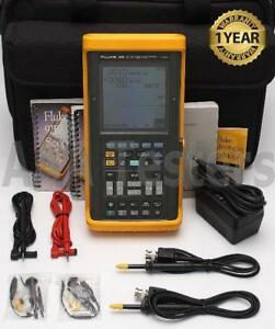 Fluke 99b Scopemeter Series Ii 5 Gs s 2 Channel 100mhz Oscilloscope 99 B