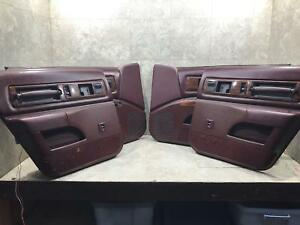 91 92 93 94 95 96 Caprice Impala Roadmaster Interior Door Trim Panel Cards