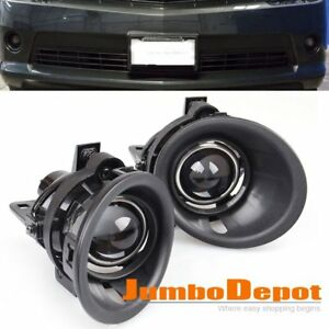 Us Front Bumper Projector Fog Light W Wiring Kit For 14 15 Chevy Camaro 3 6l V6
