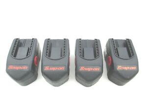 Snap On 4 Piece Battery Set 18 Volt 2 4ah Nicd Does Not Hold Charge Ctb4185