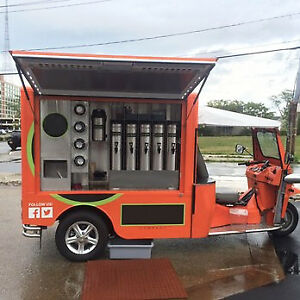 Fully Electric 2015 Tea Concession Food Truck