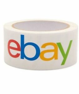 2 X 75 Yards Official Ebay Branded Packaging Tape 4 5 6 8 10 12 Count Lot