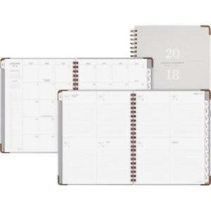 At a glance Aagyp90512 Signature Planner Grey 2019