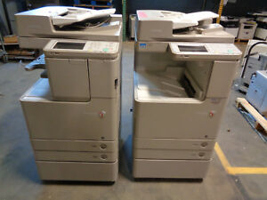 Canon Imagerunner Advance C2225 Color Copier Lot Of 2 Ct