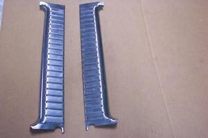 1956 Ford Parklane Wagon Stainless Door Window Trim Rh Lh Pair 56