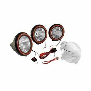 Rugged Ridge Hid Off Road Lights 35w Round 7 Dia Clear Lens 1520563