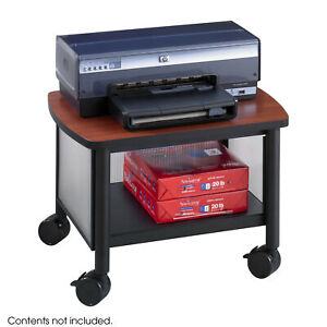 Safco Products Company Impromptu Mobile Printer Stand Black