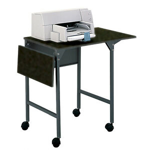 Safco Products Company Mobile Printer Stand Black