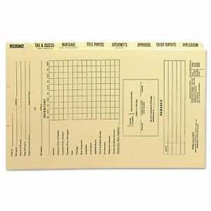 Smead Manufacturing Company Dividers For Mortgage File Folder Eight set