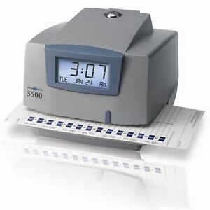 Pyramid 3500 Multi purpose Time Clock And Document Stamp