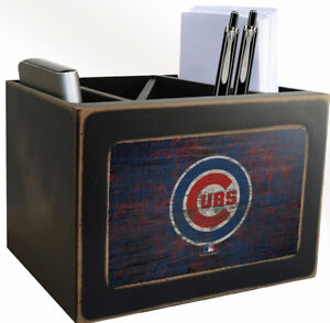 Fan Creations Mlb Distressed Supplies Organizer Chicago Cubs