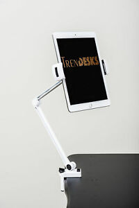 Trendesks Document Stand 2 in 1 Cell Tablet Holder White
