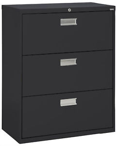 Sandusky Cabinets 3 drawer Lateral Filing Cabinet