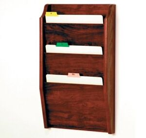 Wooden Mallet Three Pocket Chart Holder