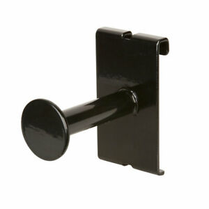 Econoco Faceout With Disk End For Gridwall Slatwall Accessory Set Of 24