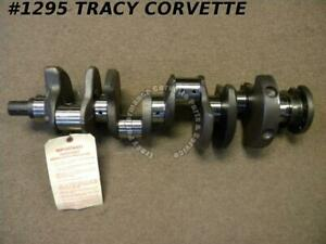 1962 67 Chevy 327 3884577 Forged Small Journal Crankshaft Fresh Grind 010r 010m