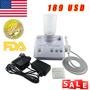 Us Dental Ultrasonic Scaler Fit Ems With Auto water Supply 5 Tips Handpiece Poll