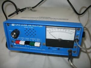 Test Clean Gow Mac 21 250 Gas Leak Detector With Probe