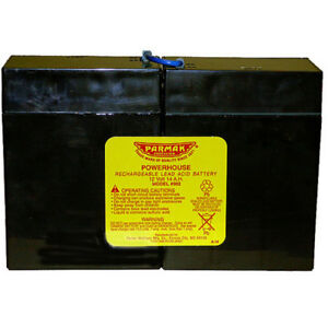 Parmak 12 Volt Fencer Replacement Battery Leakproof Electric Fence Accessories