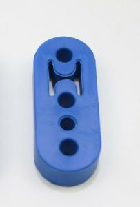 1320 Performance Polyurethane Adjustable Muffler Exhaust Hanger Blue Universal 1