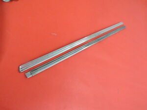 1941 Ford Front Fender Inner Stainless Strips Left And Right A 6 8