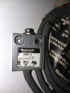 New Old Stock Honeywell 914ce1 6 Micro Limit Switch