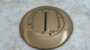 Hubbell Wiring Device kellems S1cfcbrs 8 In Floor Box Cover Carpet Flange