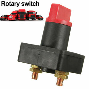 100a Battery Disconnect Power Cut Off Kill Selector Switch For Rv Boat Car Van