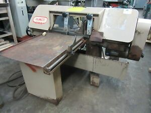 Kalamazoo 9 X 13 Horizontal Metal Cutting Band Saw Model H9aw
