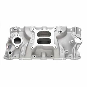 Edelbrock 2701 Performer Eps Intake Manifold Sbc Chevy 305 350 383 Imca Legal
