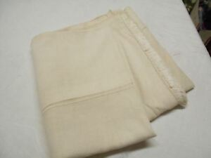Vtg Antique Hemp Linen Grain Bag Sack Coverlet Sheet Blanket Quilt 93x55