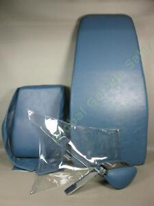 Blue 3 pc Belmont Bel 7 Dental Patient Exam Chair Cushion Upholstery Set Lot Nr
