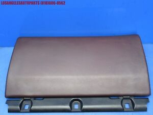 86 89 Porsche 944 Dashboard Glove Box Lid Cover Oem Burgundy Color