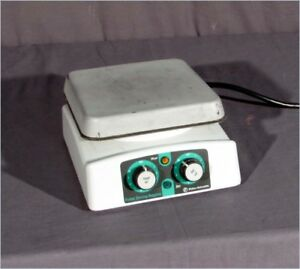 Fisher Heated Stirring Hot plate With 7 5 x7 5 Top