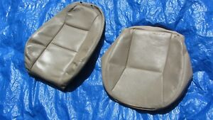 99 00 01 Saab 9 3 Convertible Hatchback Tan Driver Left Side Leather Seat Covers