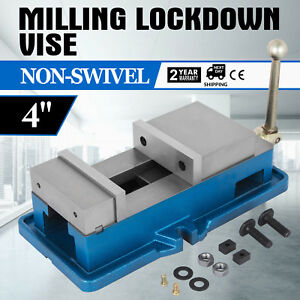 4 Non swivel Milling Lock Vise Bench Clamp Secure Assembly Precision Good
