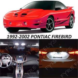9 White Led Interior Lights Package Kit For 1993 2002 Pontiac Firebird Tool Pf1
