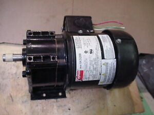 Dayton Ac Gearmotor 1 6hp 60rpm 115vac 6k331b Electrically Reversible 5 8 Shaft