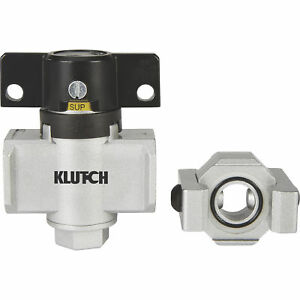 Klutch Safety Lockout Valve 1 2in Npt 145 Psi