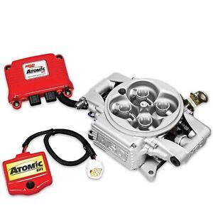 Msd 2910 Atomic Efi Throttle Body Fuel Injection System Up To 525hp No Fuel Pump