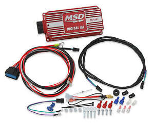 Msd Ignition 6201 Digital 6a Cdi Ignition Control Box