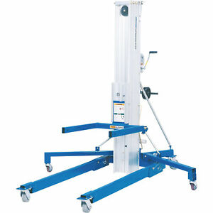 Genie Superlift Advantage Manual Material Lift 20ft Lift 800 lb Cap sla 20