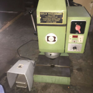 Bracker baltec Model Rn 102 1 4 Capacity Orbital Riveting Radial Machine