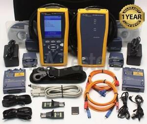 Fluke Networks Dtx 1800 Cat6 Mm Fiber Cable Analyzer Dtx mfm Dtx1800 Dtx 1800 m