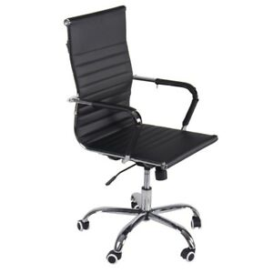 360 Office Pu Leather High Back Swivel Gaming Swivel Chair Reclining Furniture